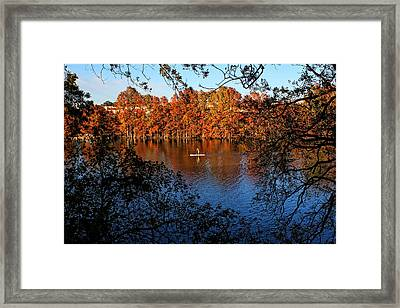Vacation Recreation Framed Print by Judy Vincent