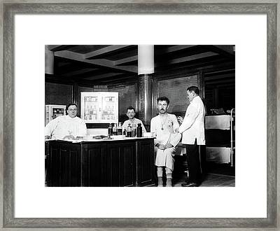 Vaccination, 1914 Framed Print by Granger