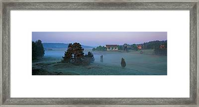 Vada Church Brottby Vada Sjokullar Framed Print by Panoramic Images
