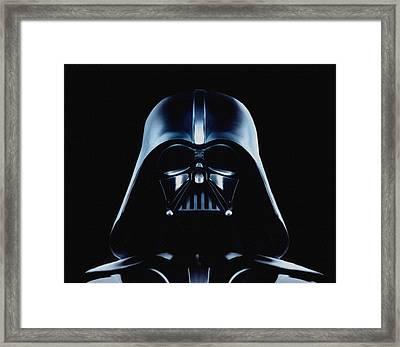 Vader Framed Print