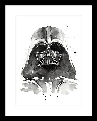 Dark Side Framed Prints