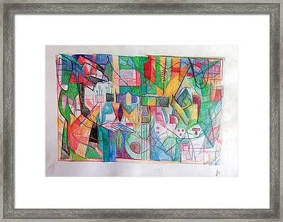 Vaethchanan Framed Print