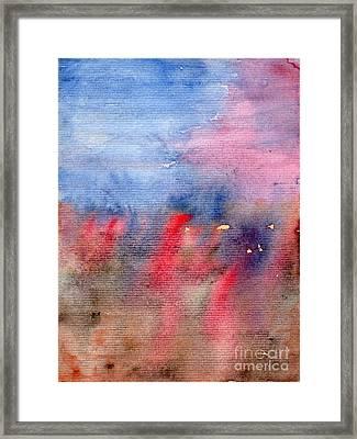 Vague Memory Framed Print by Angela Bruno