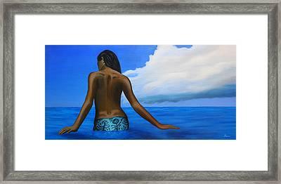 Vahine De Tahiti Framed Print by Wahine Art