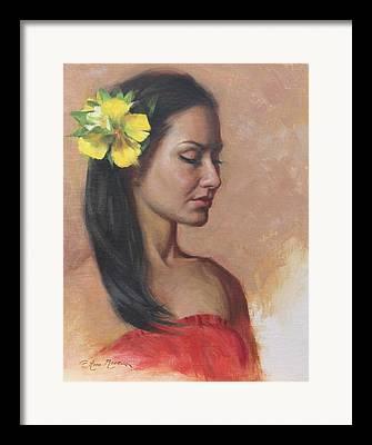 Latina Framed Prints
