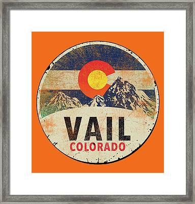 Vail Framed Print