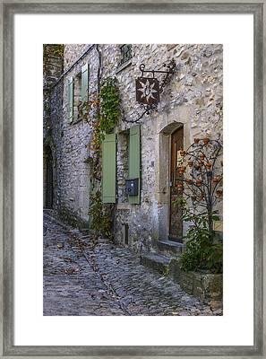 Vaison La Romaine Framed Print