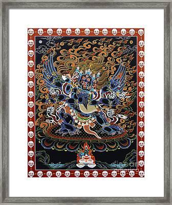 Vajrakilaya Dorje Phurba Framed Print