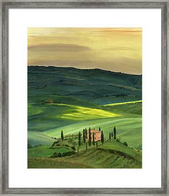 Val D II Framed Print by Cecilia Brendel