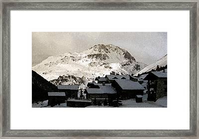 Val D'lsere France Framed Print