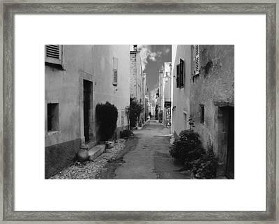 Valbonne - Provence-alpes-cote D'azur - France Framed Print by Christine Till