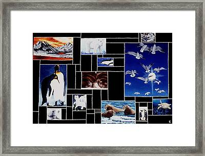 Valdez Spring Framed Print