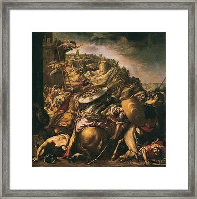 Vald�s Leal, Juan De 1622-1690. The Framed Print by Everett