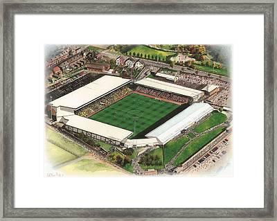 Vale Park - Port Vale Framed Print by Kevin Fletcher