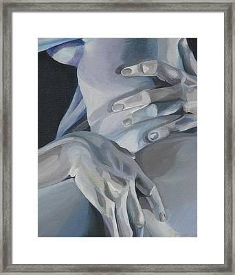 Valentine Detail Framed Print by Julie Orsini Shakher
