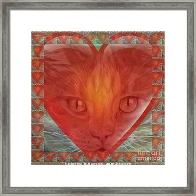 Valentine Gallery Number 3 Framed Print by PainterArtist FIN