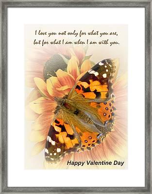 Valentine Iv Framed Print
