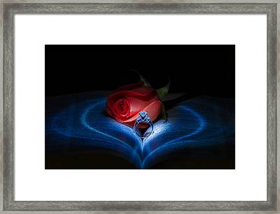 Valentine Love Framed Print by Tin Lung Chao