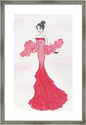 Valentine Red   Framed Print by Christine Corretti