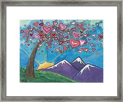 Valentine Wishes Framed Print
