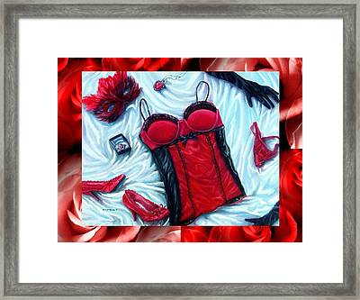 Valentines Day Comes Once A Year Framed Print