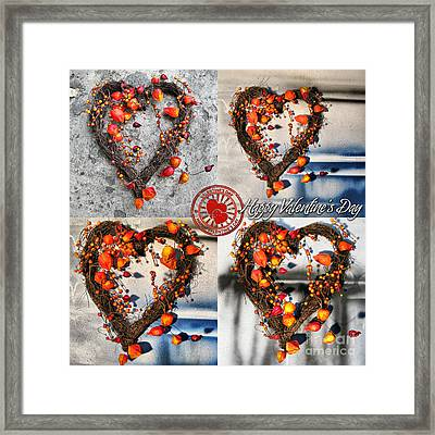 Valentine's Day Framed Print by Daliana Pacuraru