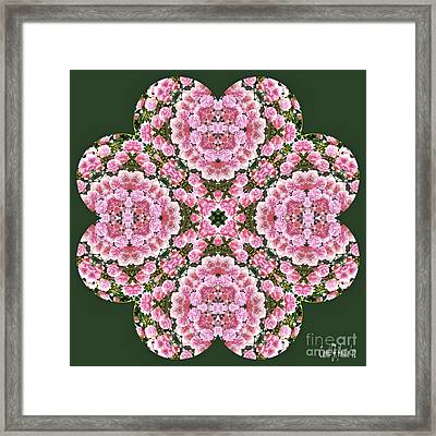 To My Love On Valentine's Day  Framed Print