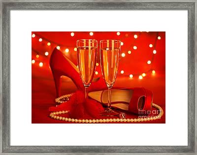 Valentine's Day Party Framed Print