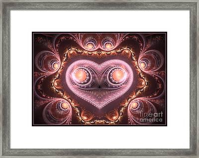 Valentine's Premonition Framed Print by Svetlana Nikolova
