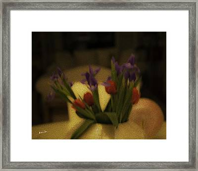 Valentine's - The Day After Framed Print