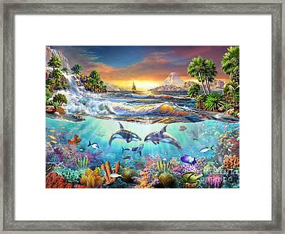 Valhala Dawn Framed Print