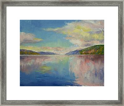 Valhalla Framed Print by Michael Creese
