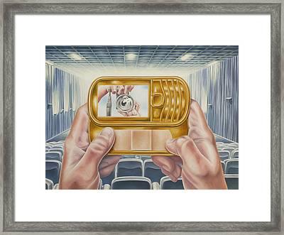Validation Framed Print by Charles Luna