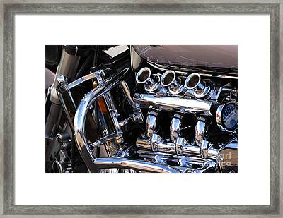 Valkyrie 2 Framed Print by Wendy Wilton