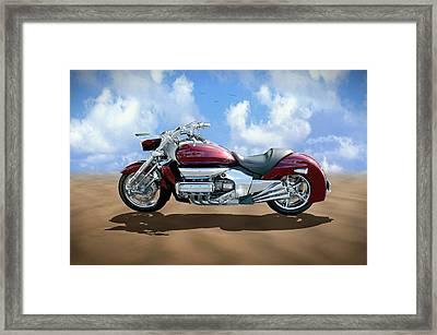 Valkyrie Rune Framed Print by Mike McGlothlen