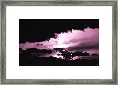 Valkyrie Sky Framed Print