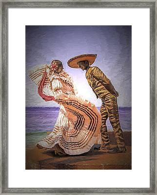 Vallarta Dancers Framed Print