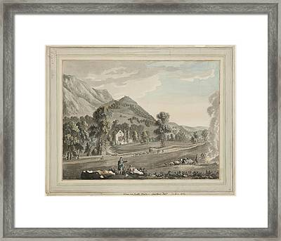 Valle Crucis Abbey Framed Print by British Library