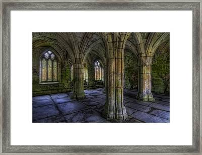 Valle Crucis Abbey Framed Print by Ian Mitchell