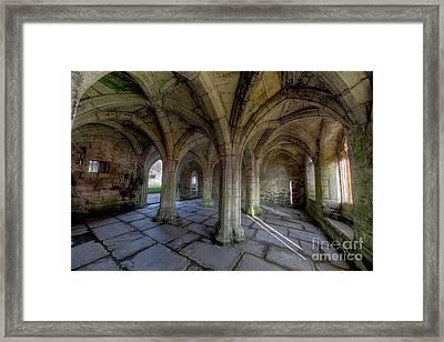 Valle Crucis Chapter House  Framed Print