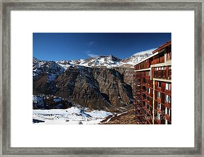 Valle Nevado Colors Framed Print by John Rizzuto