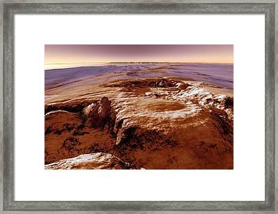 Valles Marineris Framed Print