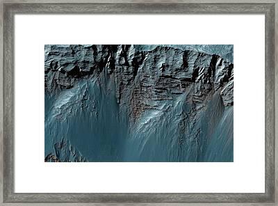 Valles Marineris Framed Print by Nasa