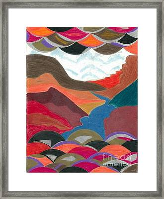 Valley Framed Print by Chris Bookhart