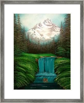 Valley Falls Framed Print by Lynn Lawrence