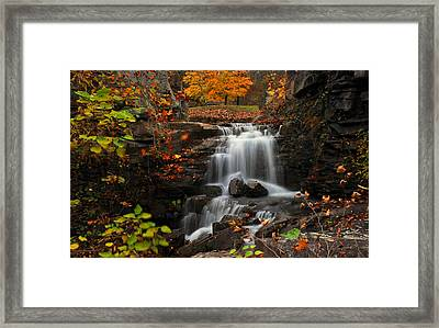 Valley Falls West Virginia Framed Print by Dung Ma