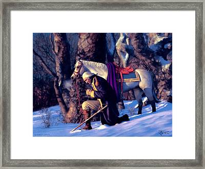 Valley Forge Framed Print by Dave Luebbert