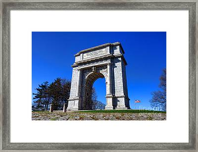 Valley Forge Glory Framed Print