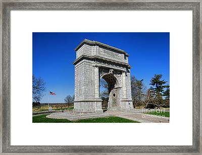 Valley Forge National Memorial Arch Framed Print