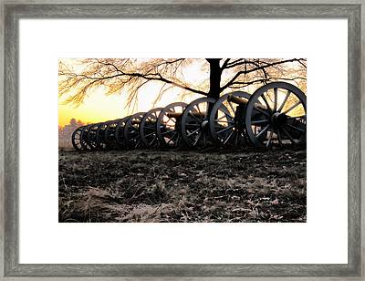 Valley Forge Thanksgiving 2012 Framed Print